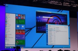 New Windows 8 start menu
