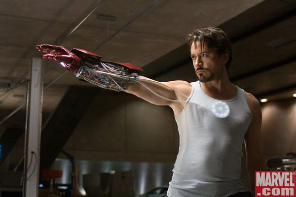 Iron Man movie image Robert Downey Jr