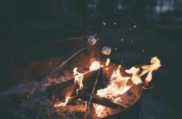 ασφαλές μαγείρεμα στο camping