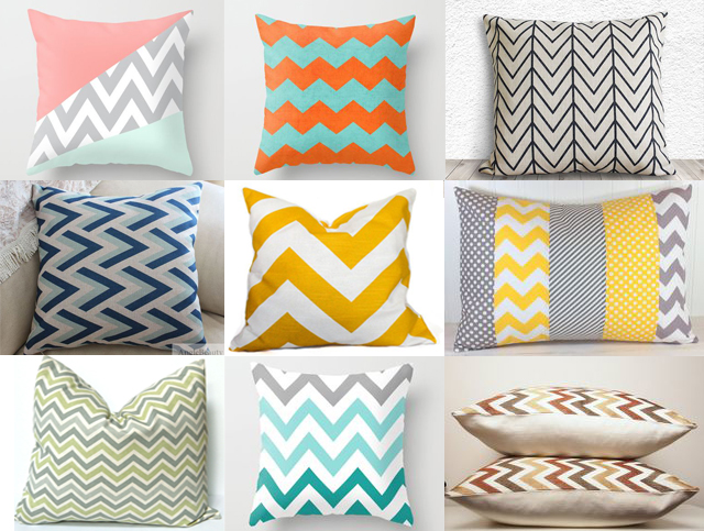 chevron-pillows