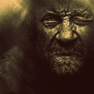 Original black & white photo by Lee Jeffries