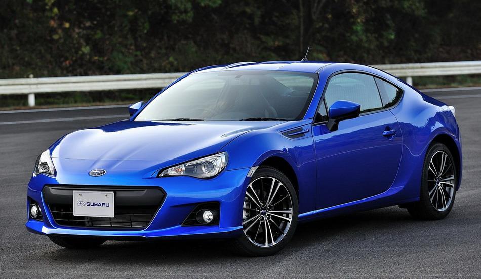 Blue-New-Subaru-BRZ-2013