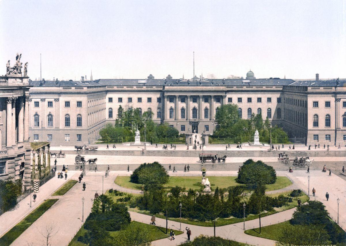 Berlin_Universität_um_1900