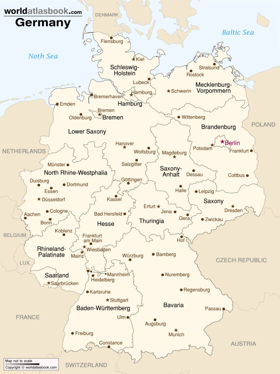 germany-cities-map-printable