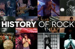 ιστορία της ροκ μουσικής