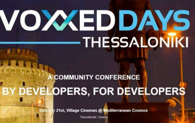 Voxxed Days Thessaloniki