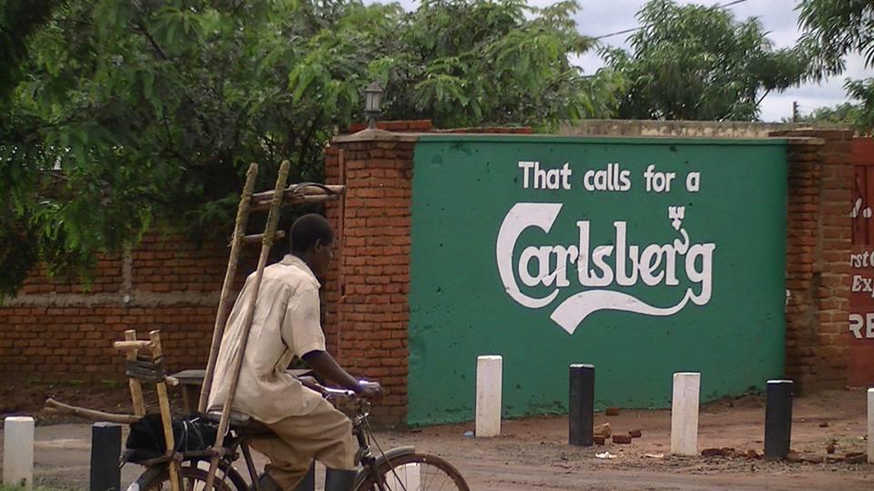 Διαφήμιση Δανικής Μπύρας στο Μαλάουι