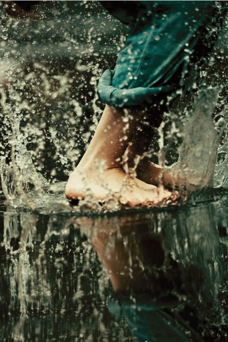 Φωτο-αφιέρωμα: Ενός λεπτού βροχή!