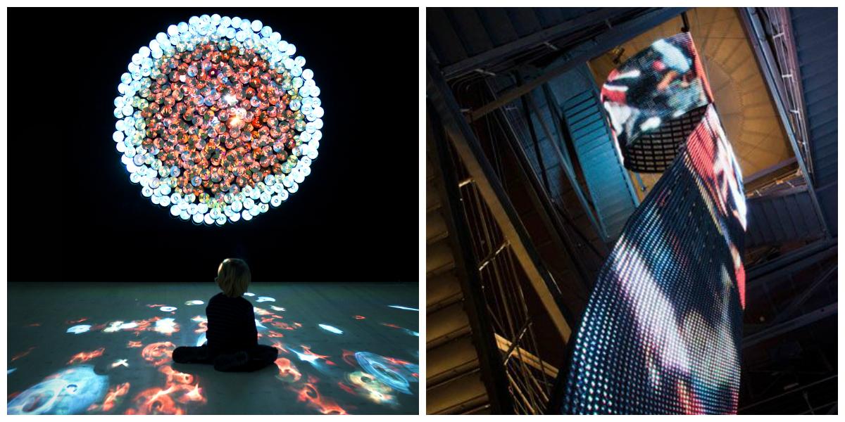 Daniel Canogar: οι μεταβολές στο περιβάλλον μέσα από μεταλλικά LED γλυπτά