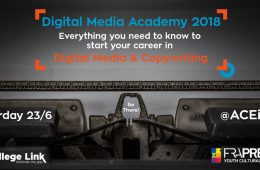 Digital Media Academy 2018
