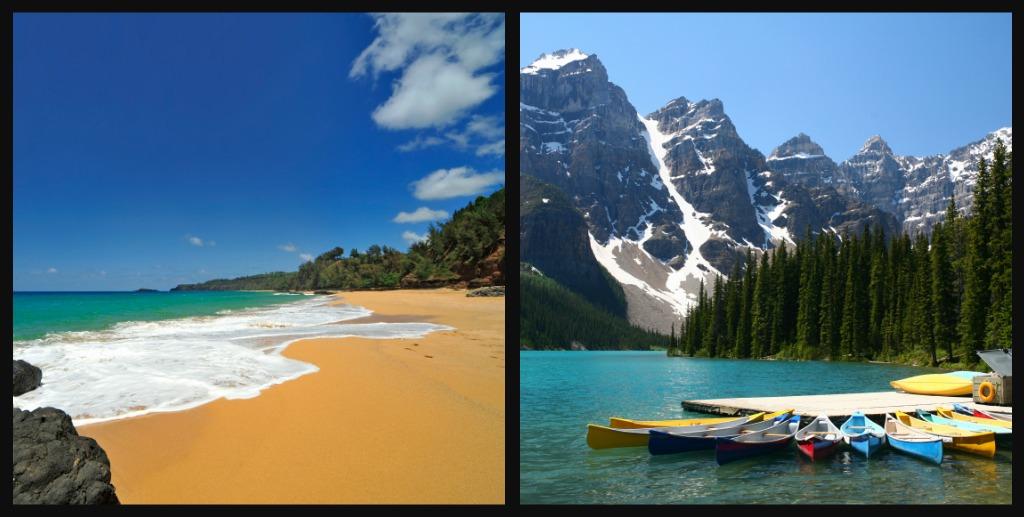 Βουνό ή θάλασσα: Εσύ τι προτιμάς;