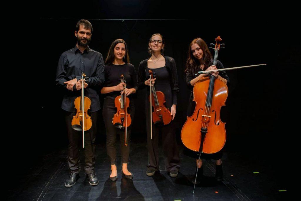 Οι συνθέτες είναι φίλοι μας: Από το κουαρτέτο εγχόρδων FourTe!